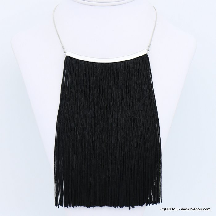 necklace 0118630-01 tassel metal-polyester