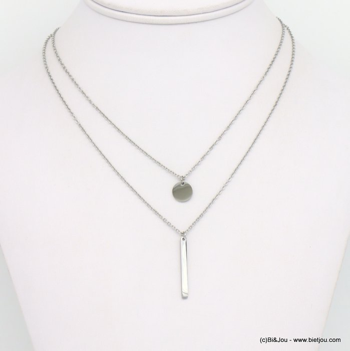 necklace 0119250-13 stainless steel