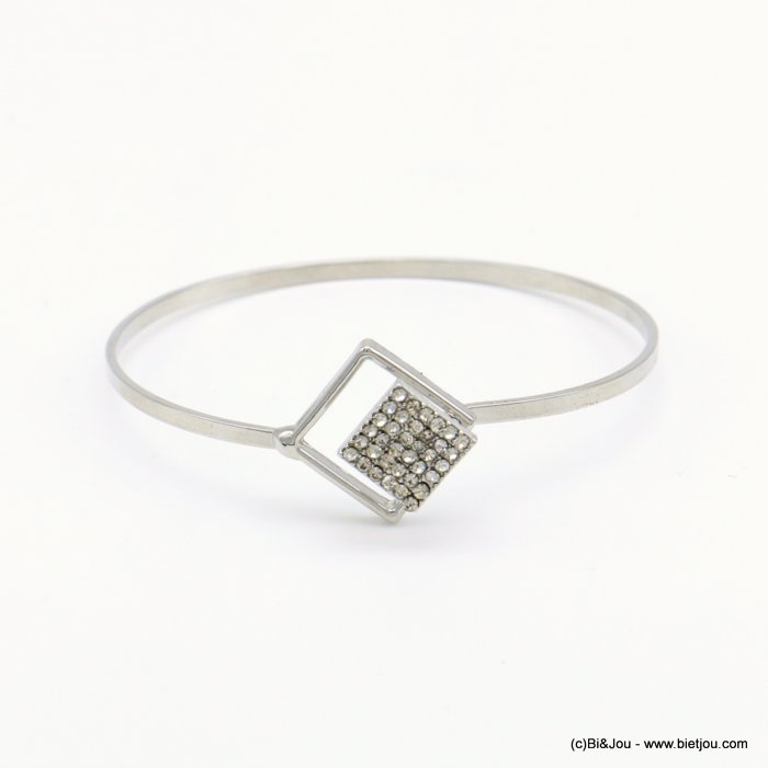 bracelet 0218513-13 openable bangle metal-strass