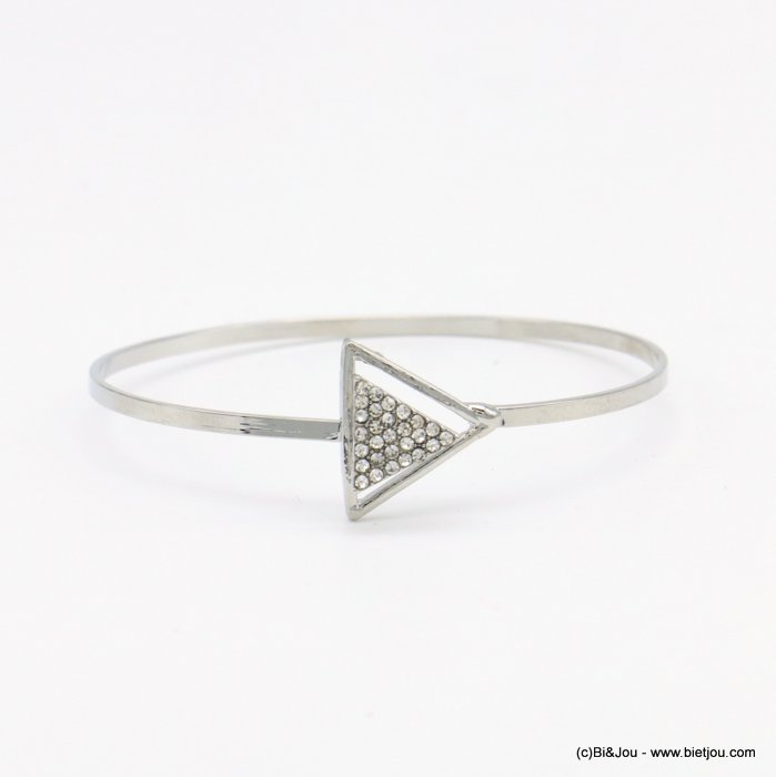 bracelet 0218514-13 openable bangle metal-strass