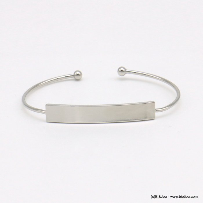 bracelet 0219006-13 open bangle metal 7mm