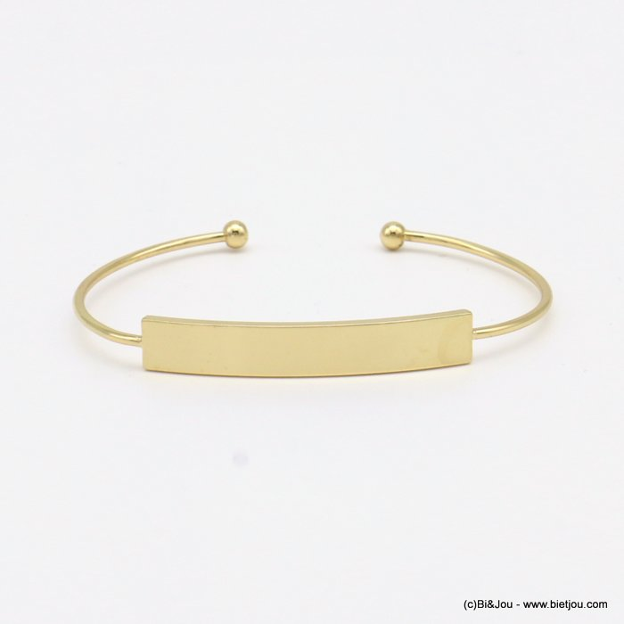 bracelet 0219006-14 open bangle metal 7mm