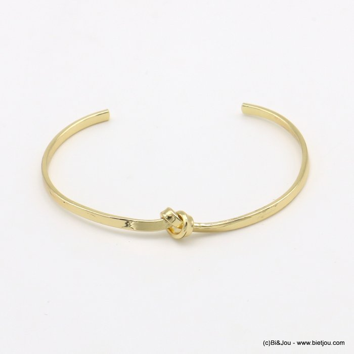 bracelet 0219039-14 knot metal open bangle 3x60mm