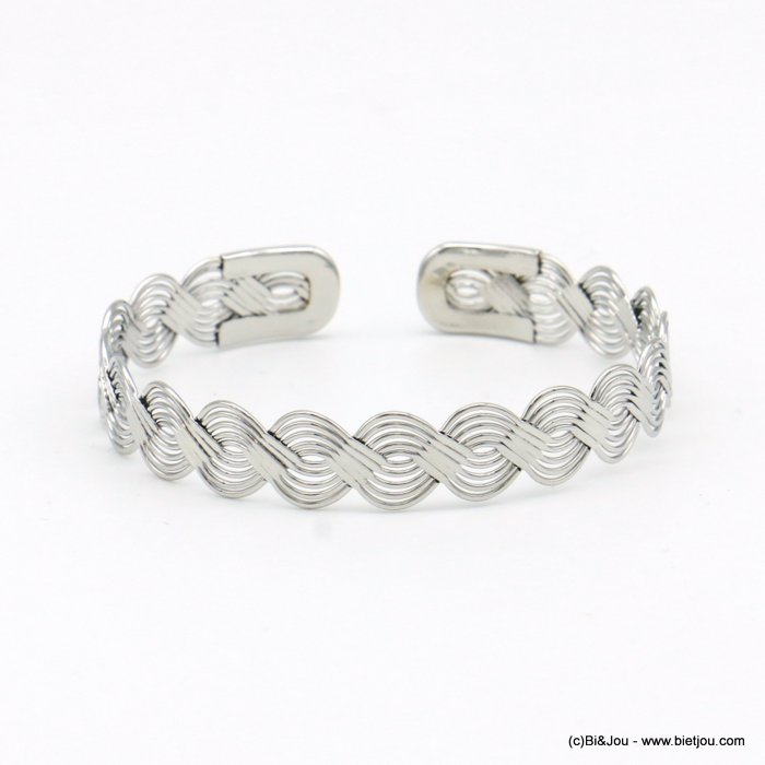 bracelet 0219067-13 open bangle metal 7mm