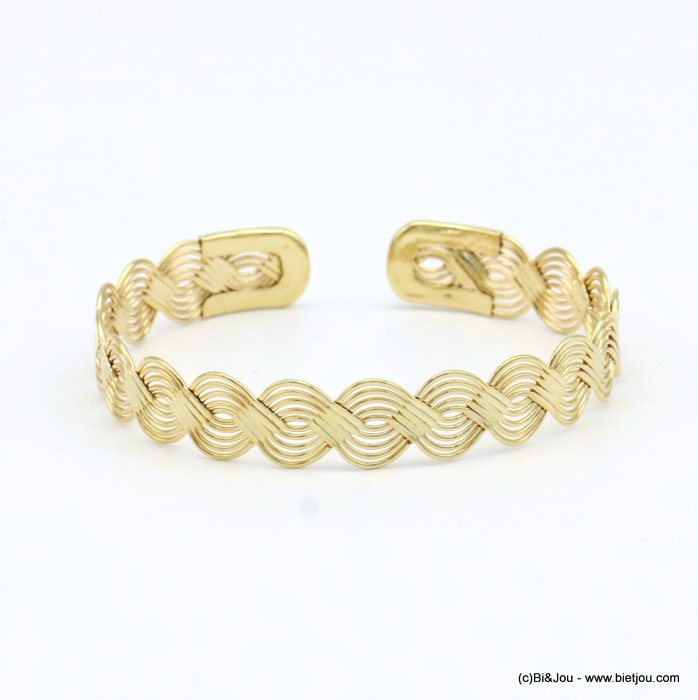 bracelet 0219067-14 open bangle metal 7mm