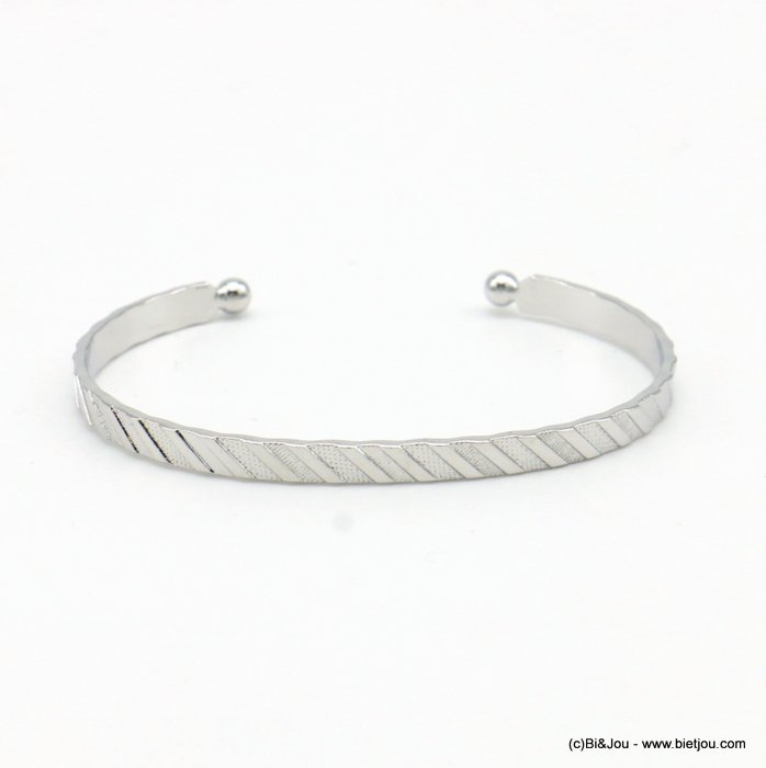 bracelet 0219068-13 open bangle metal 4mm