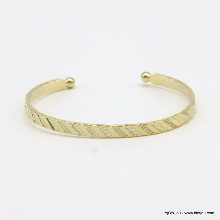 bracelet 0219068-14 open bangle metal 4mm