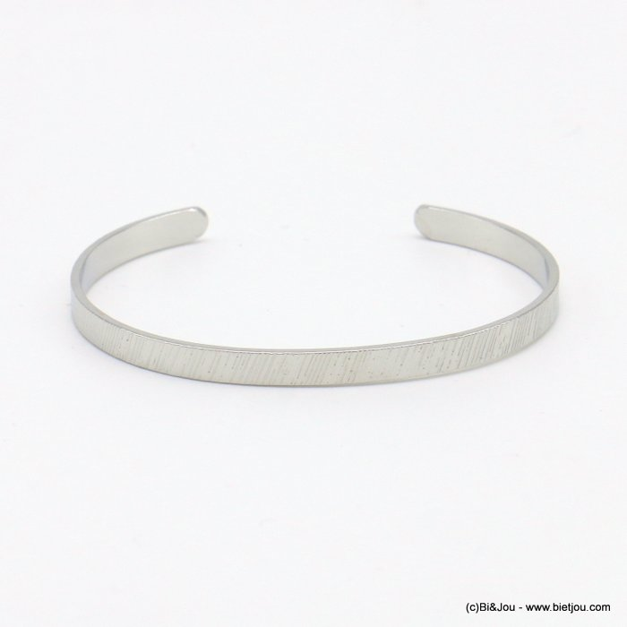 bracelet 0219070-13 open bangle metal 4mm