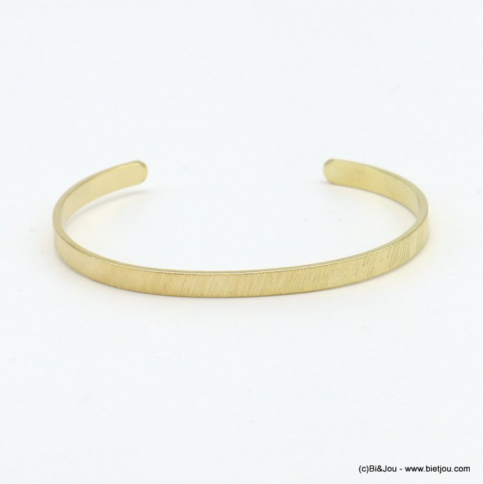 bracelet 0219070-14 open bangle metal 4mm