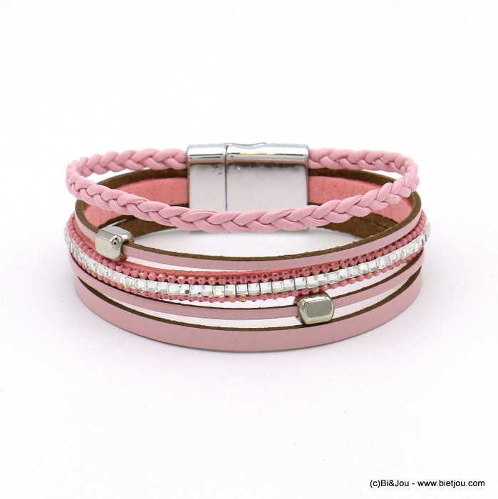 bracelet 0219102-18 magnetic 20x190mm synthetic-metal-glass