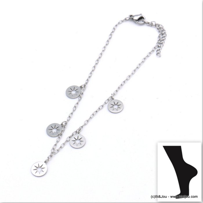 anklet 0219107-13 stainless steel