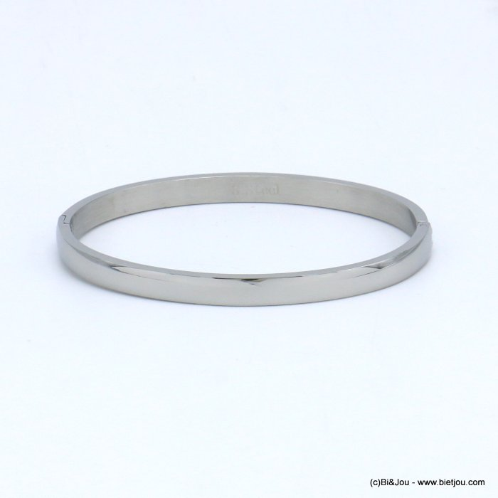 bracelet 0219534-13 bangle openable minimalist stainless steel 6x60mm