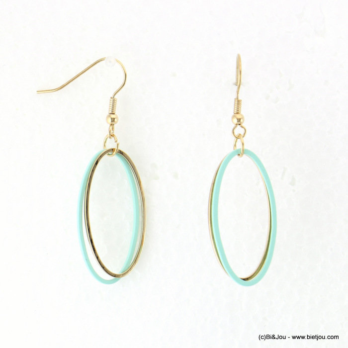 earrings 0318062-17 15x52mm metal