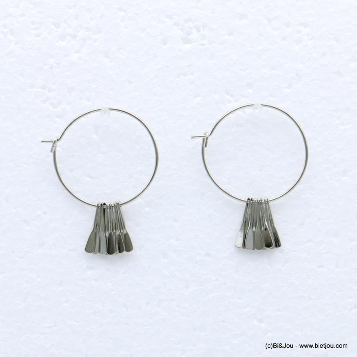 earrings 0318683-13 metal 26x31mm