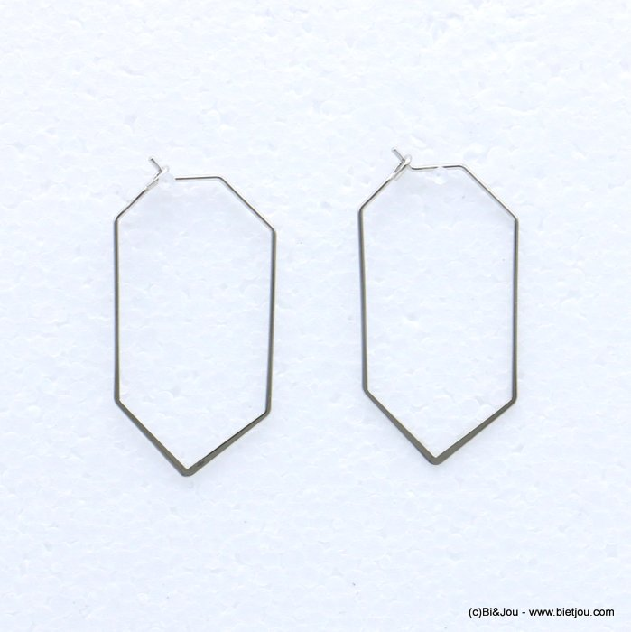 earrings 0318685-13 metal 23x45mm