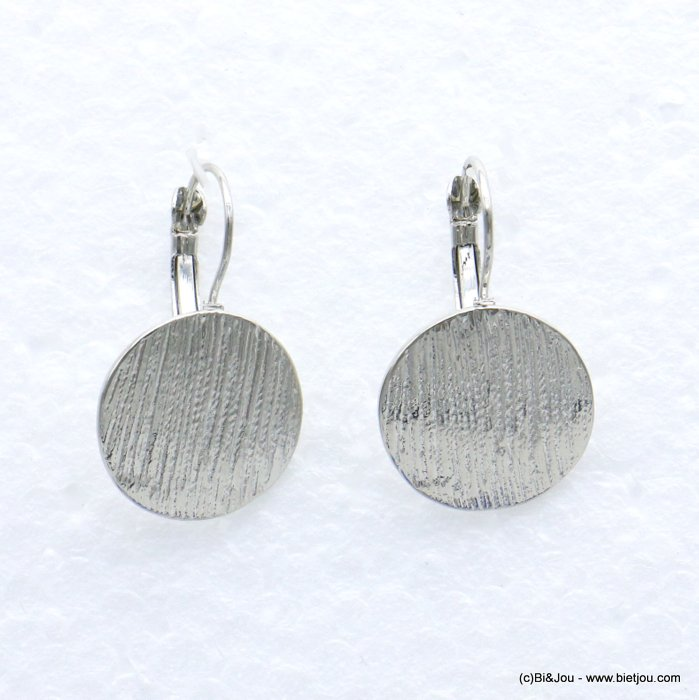 earrings 0319064-13 19mm metal