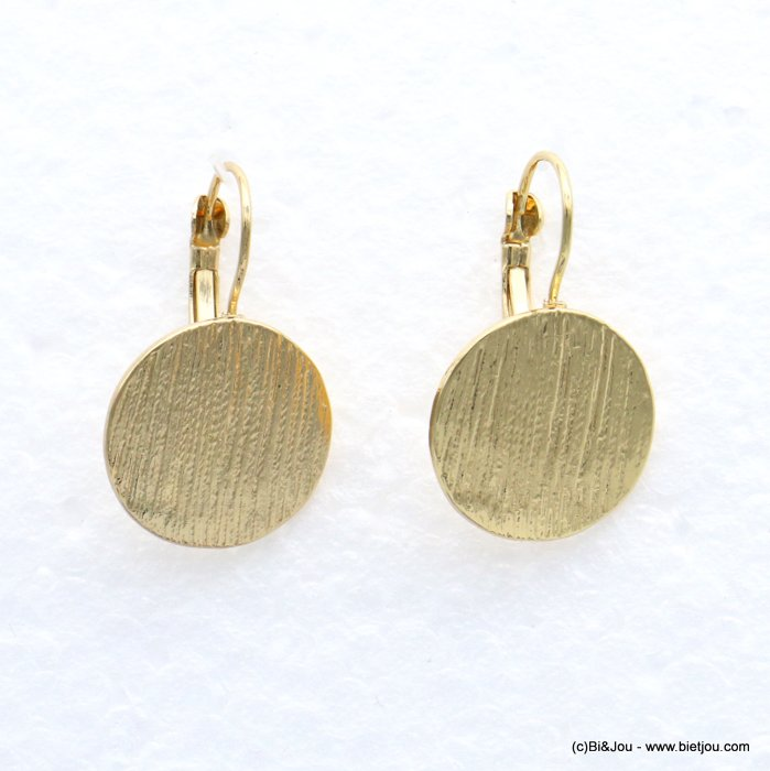 earrings 0319064-14 19mm metal