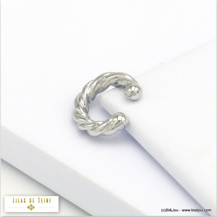 ear cuff 0320119-13 metal twisted 4x15mm