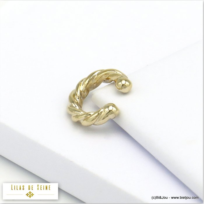 ear cuff 0320119-14 metal twisted 4x15mm