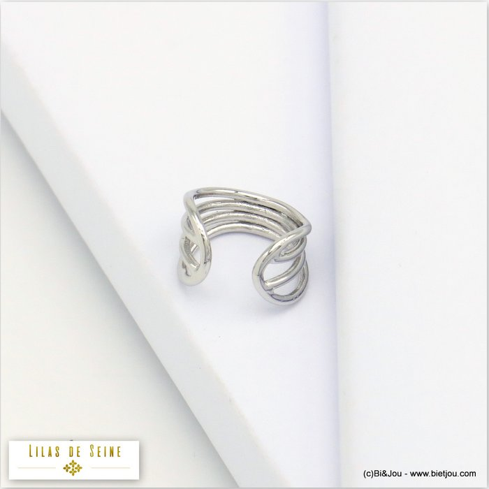ear cuff 0320127-13 metal minimalist 7x10mm