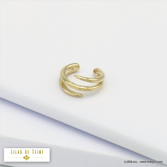 ear cuff 0320129-14 metal minimalist 6x12mm