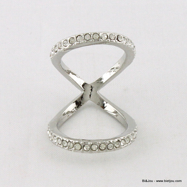 ring 0414069-13 metal-strass