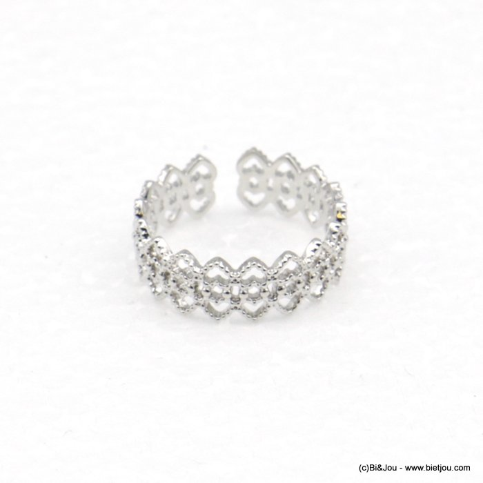 finger ring 0418522-13 lace adjustable geometric style 15mm woman