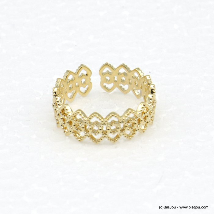 finger ring 0418522-14 lace adjustable geometric style 15mm woman