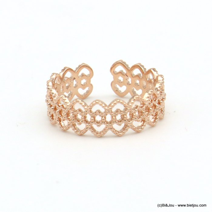 finger ring 0418522-23 lace adjustable geometric style 15mm woman