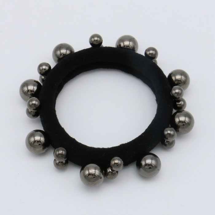 scrunchie 0619504-20 elastic hair beads metallic resin balls diameter:45mm