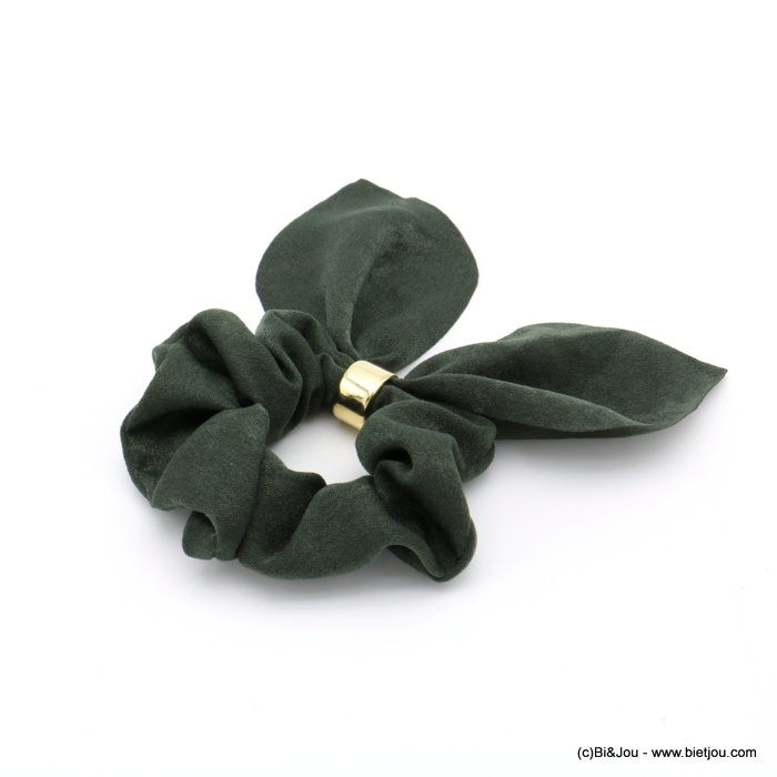 scrunchie 0619585-07 hair elastic polyester metal
