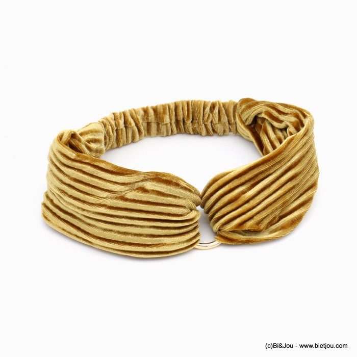 hair band 0619586-43 velvet elastic metal 75mm