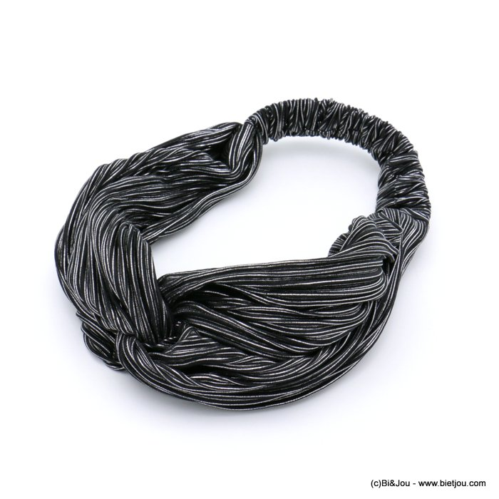 hair band 0619599-01 elastic polyester metallized thread 80mm