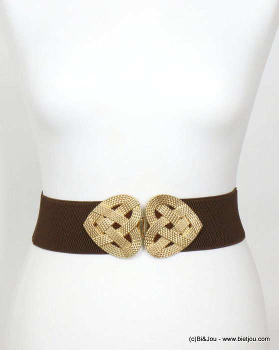 belt 0620001-02 heart elastic metal-polyester