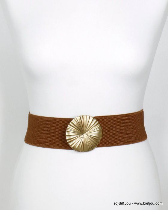 belt 0620002-02 heart elastic metal-polyester