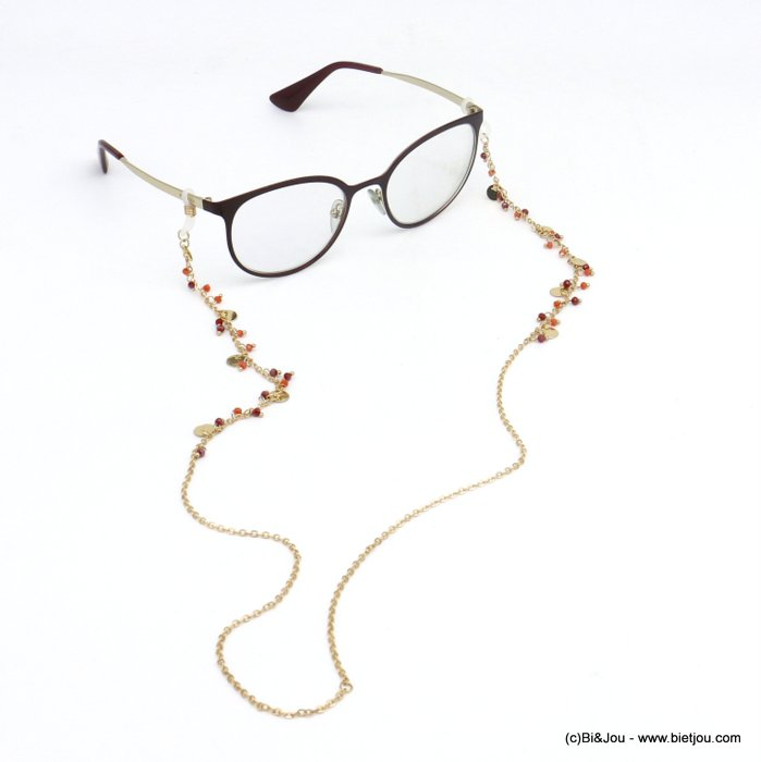 Glasses Chain 0620046-10 metal-cristal