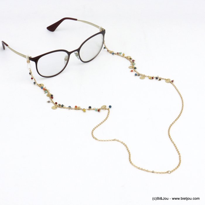 Glasses Chain 0620046-99 metal-cristal