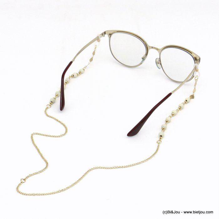 Glasses Chain 0620047-19 metal-wood