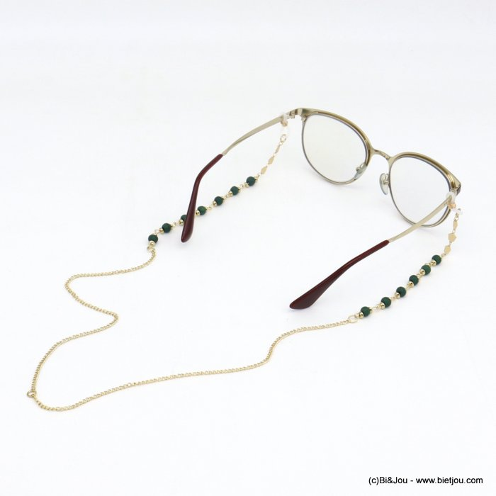Glasses Chain 0620047-29 metal-wood