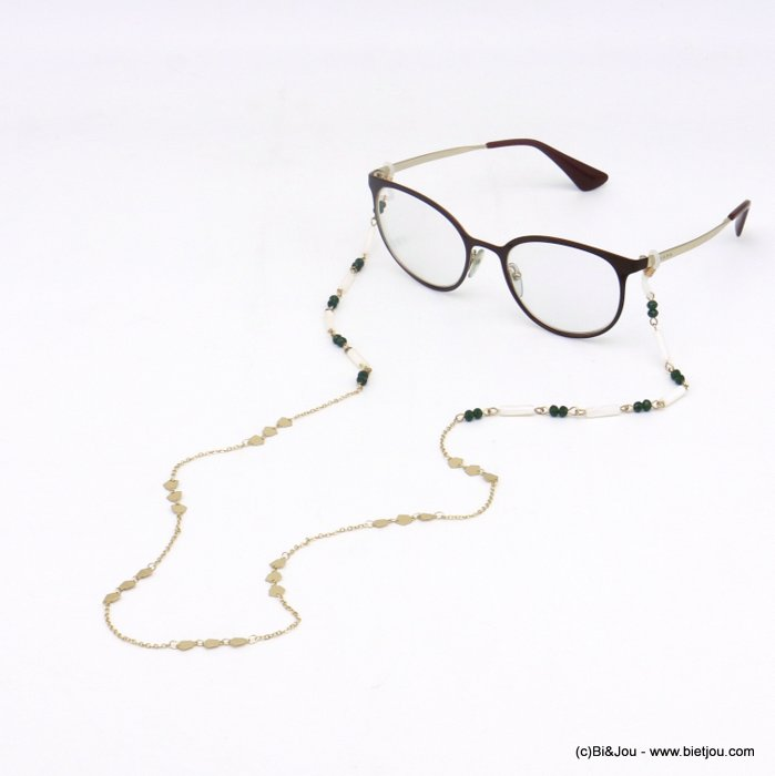 Glasses Chain 0620048-07 metal-crystal-shell