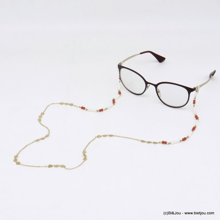 Glasses Chain 0620048-36 metal-crystal-shell