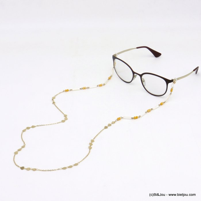 Glasses Chain 0620048-43 metal-crystal-shell