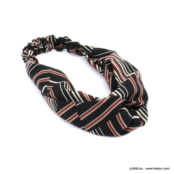 hair band 0620508-01 polyester elastic 80mm