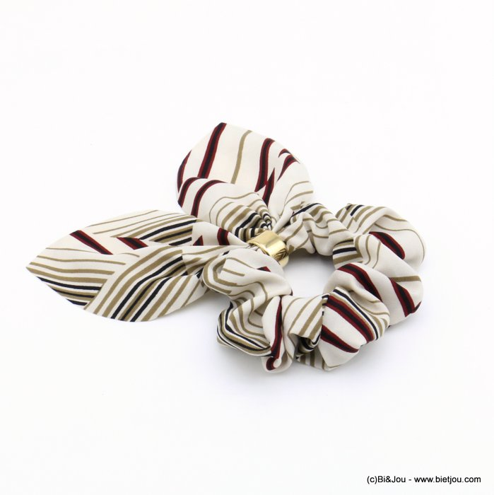 scrunchie 0620509-19 hair elastic polyester metal