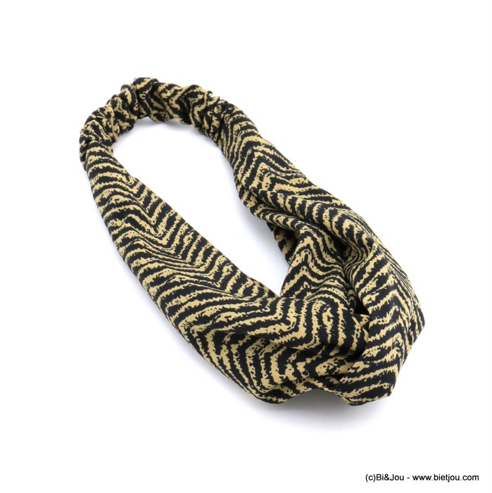 hair band 0620512-43 polyester elastic 80mm
