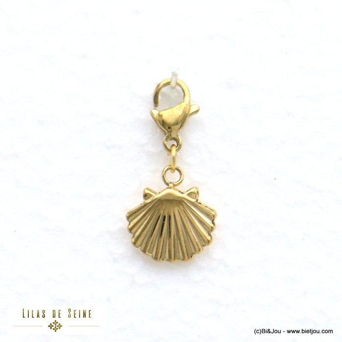 charm 0620574-14 scallop shell stainless steel