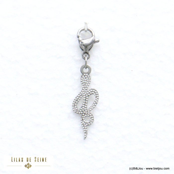 charm 0620575-13 snake stainless steel
