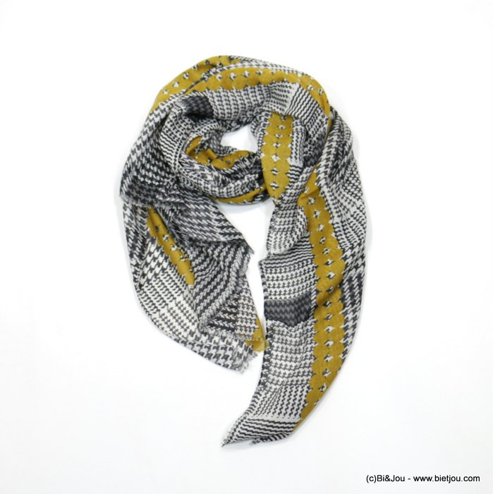 scarf 0718522-14 185x92cm 20%cotton 80%viscose