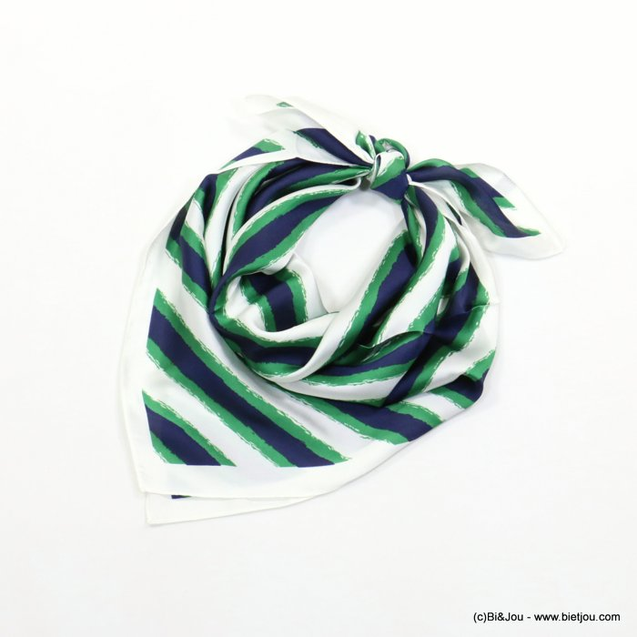 scarf 0719013-07 70x70cm 100%polyester