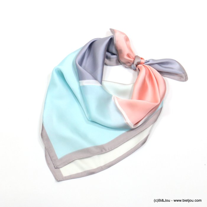 scarf 0719015-99 70x70cm 100%polyester